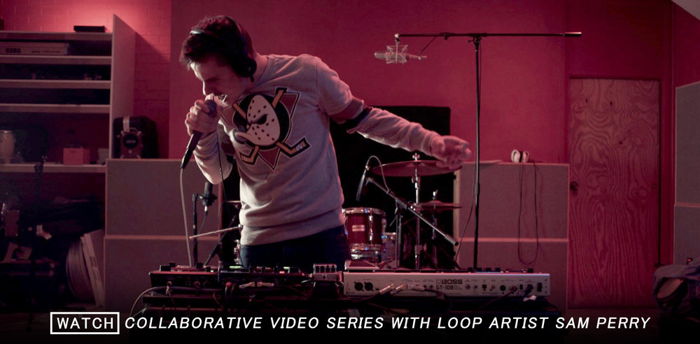 SAM PERRY - Live Vocal Looping X Video Collaborations