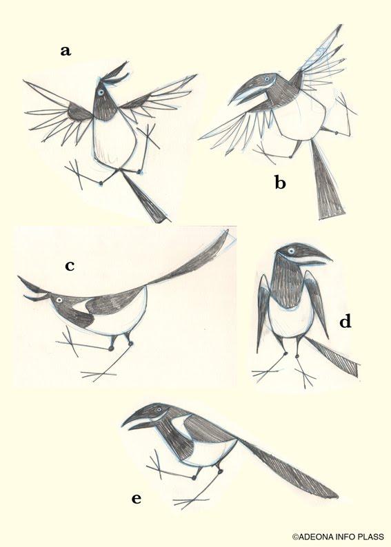 Magpie various