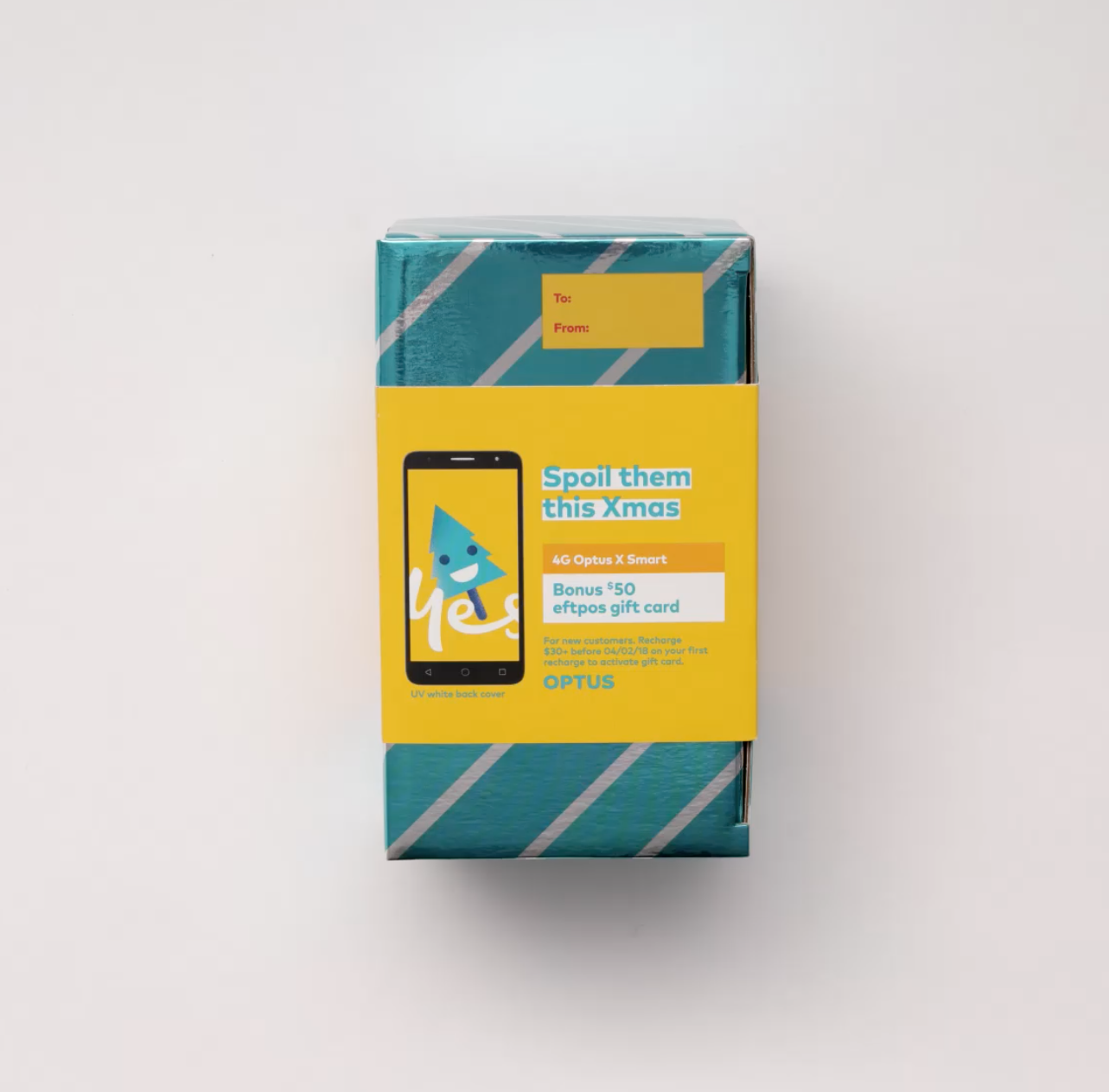 Optus Gift Box — ned&claire