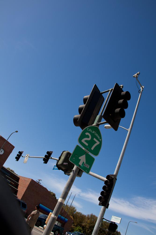 Der Weg führt zum Highway No.1