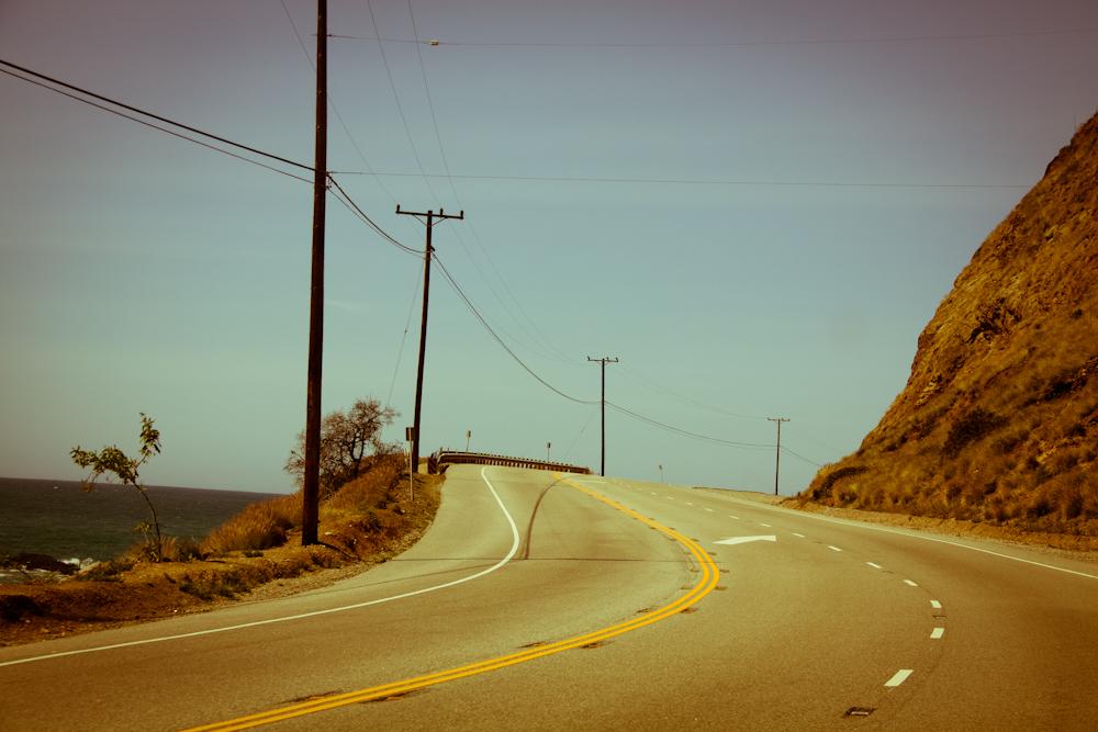 Highway No.1 Richtung Westen nach Santa Barbara