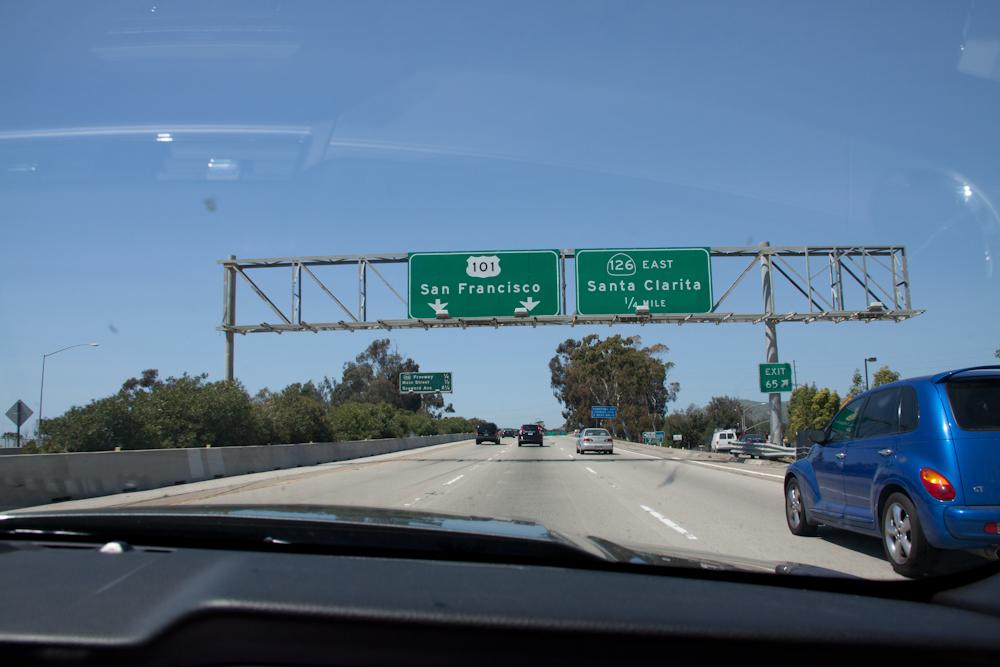 Auf dem Weg von Malibu nach Santa Barbara