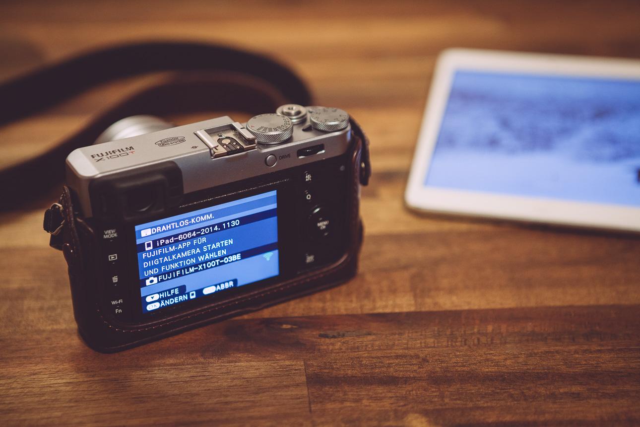 Fuji X100T - Bildübertragung per Wifi