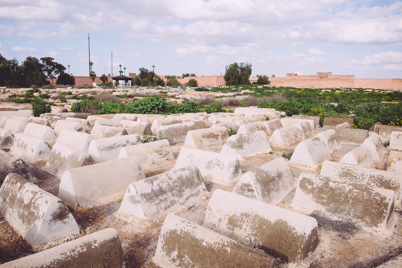 Jüdischer Friedhof Maiara in Mellah - Marrakech
