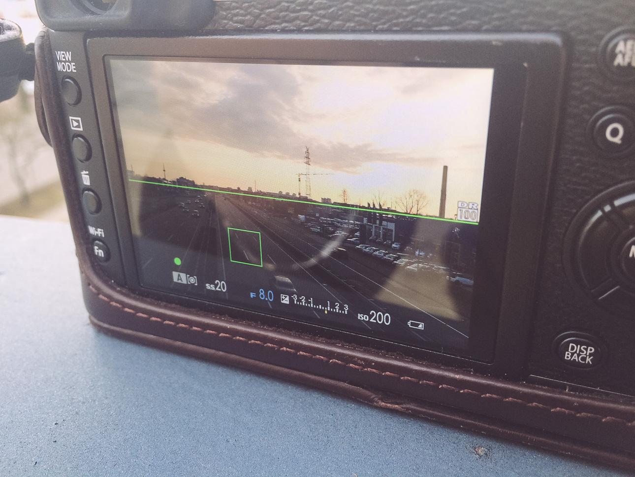 Beispielbild Fuji X100T mit ND-Filter
