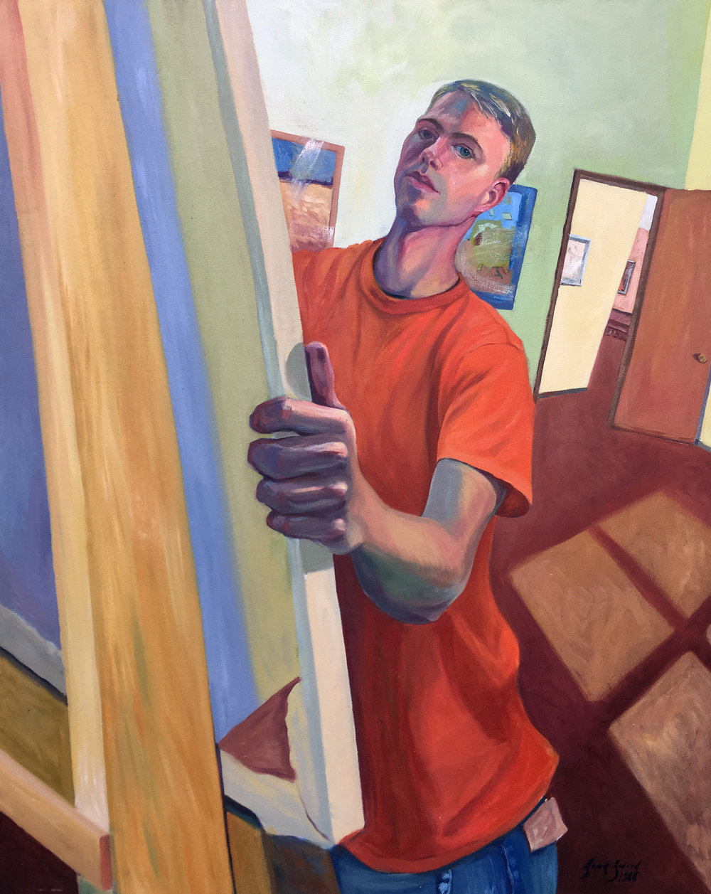 Self-portrait 1988
