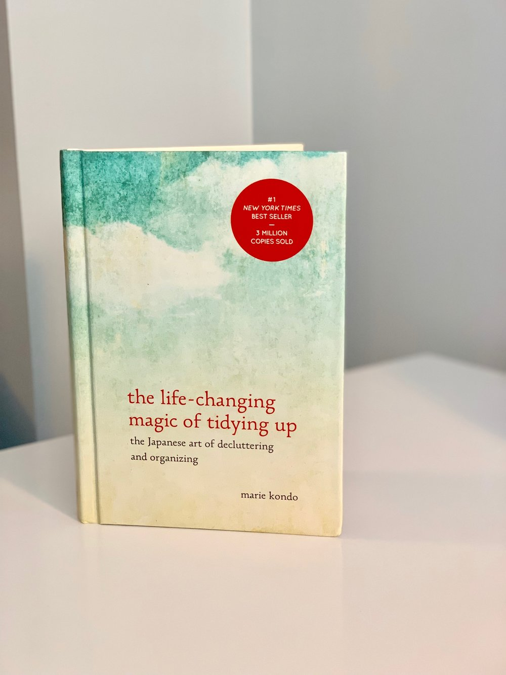 My well worn copy of    The Life Changing Magic of Tidying Up    by Marie Kondo