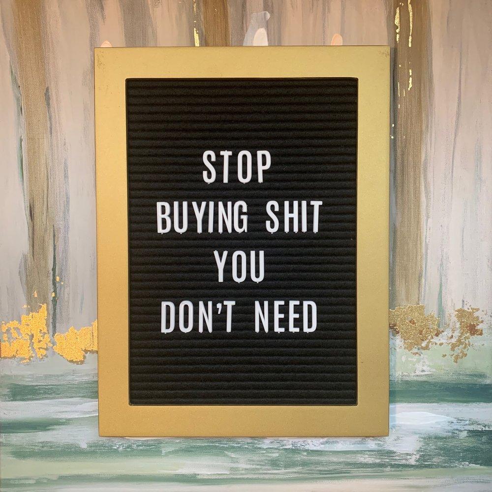 Current mantra.