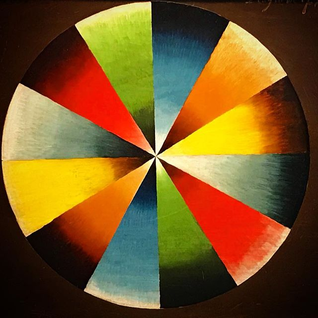 Happy birthday Thomas Cole, born #onthisday (Feb. 1) in 1801. Is this his color wheel or the birth of modernism? Hard to say. Source: @thomascolesite #hudsonriverschool #thomascole