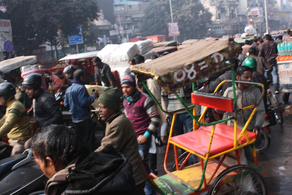 Verkeer in Mumbai -