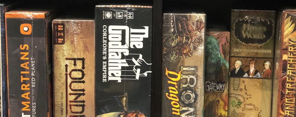 BOARD GAME NIGHTS -