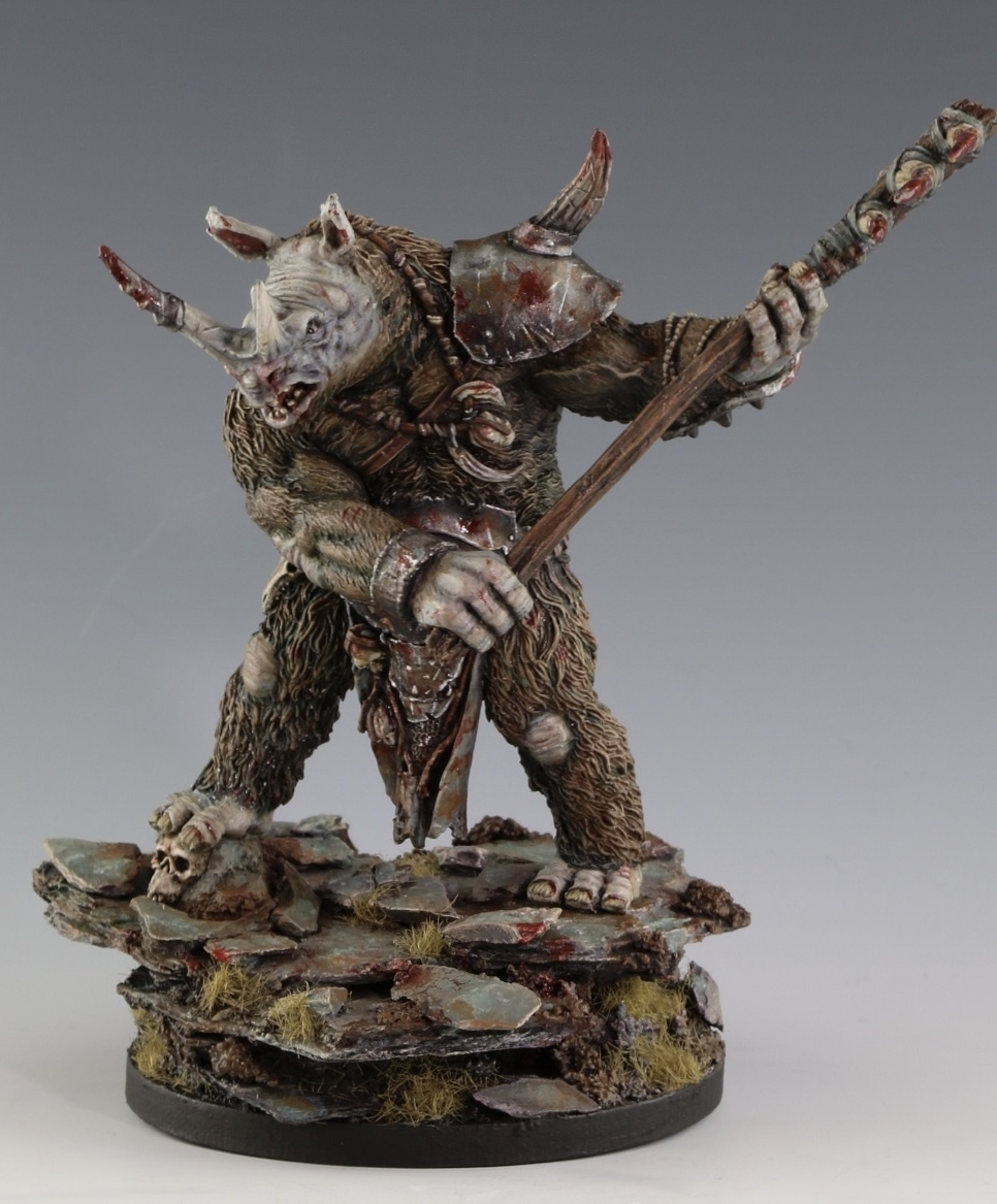 A few images of models I've painted that employ the techniques that will be taught in this course.