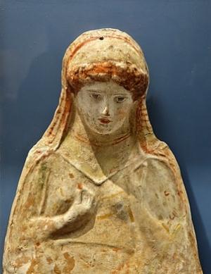 Greek figurine: The ancient Greeks esteemed self-knowledge