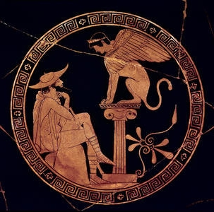 Oedipus and sphinx:  Self-knowledge quest