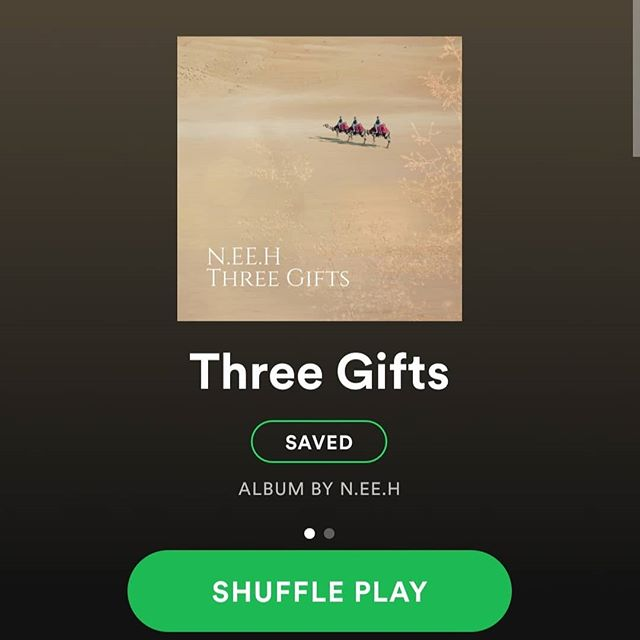 Three Gifts was a years idea in the making. Now it's here for the whole world to hear! I never imagined having the songs that I have on there as well as the special collaboration I did with my Uncle who loves music and never thought he would ever hear his voice recorded, let alone be on iTunes and Spotify. This is my gift to you all to end 2018. Remember Christmas is about Jesus, what He did for us and our family. I hope you enjoy my Debut EP 😁!