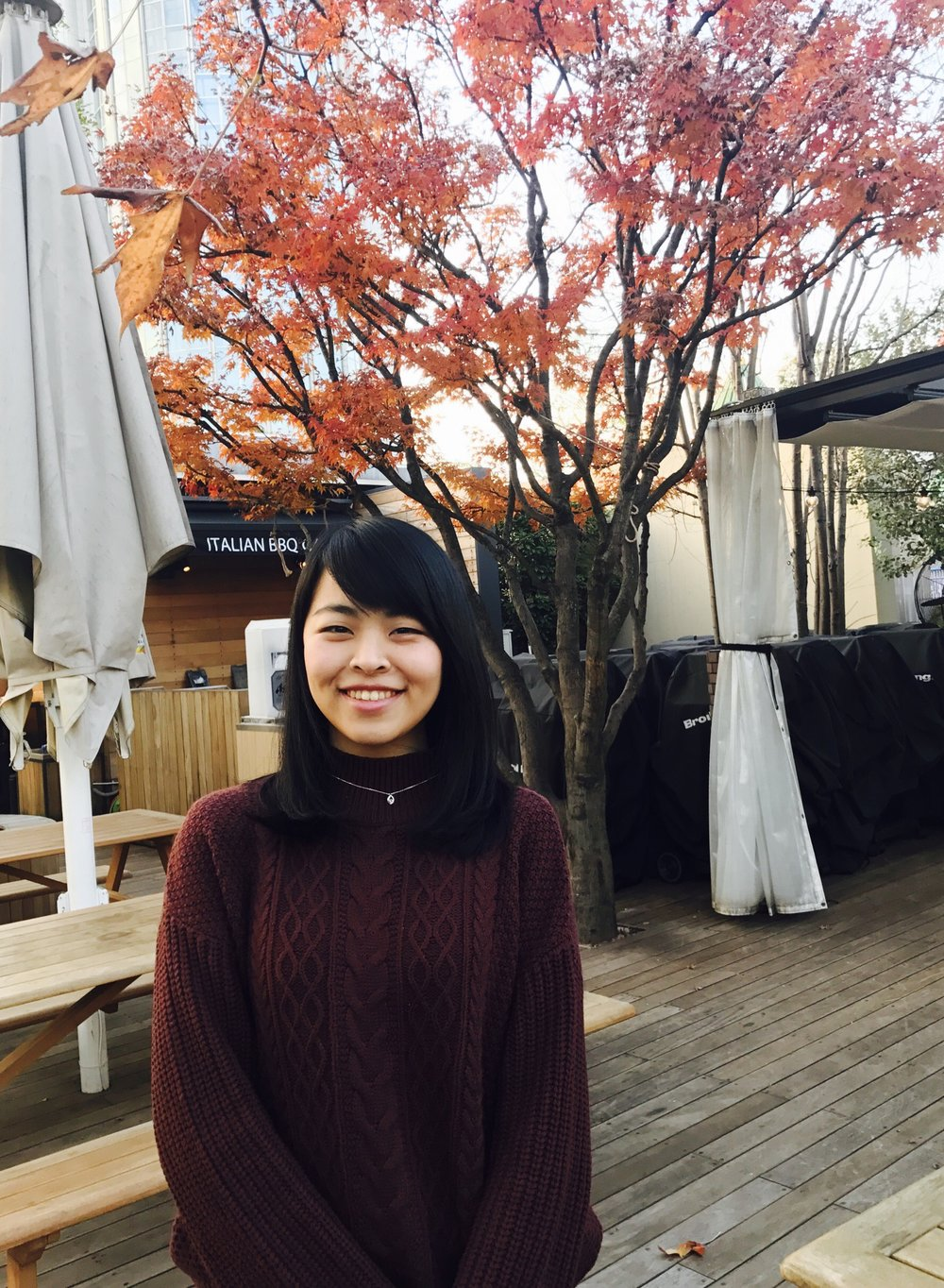 Misaki - From Tokyo, JapanYear: SeniorMajor: Economics, with a focus in Behavioral EconomicsRole at FIUTS: InternHi, I am Misaki. I am a senior student from University of Keio in Japan. I've just started the internship at FIUTS to learn about how to facilitate events and gain leadership skills. I really like to travel and get to know different cultures by making friends from all over the world. I am looking forward to learning about your home country culture!