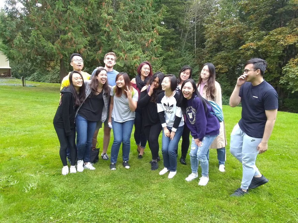 Bonding - I really enjoyed having a board retreat because it gave us a time to bond and get to know each other better.- Lufei Wang, Programming Committee Co-Chair
