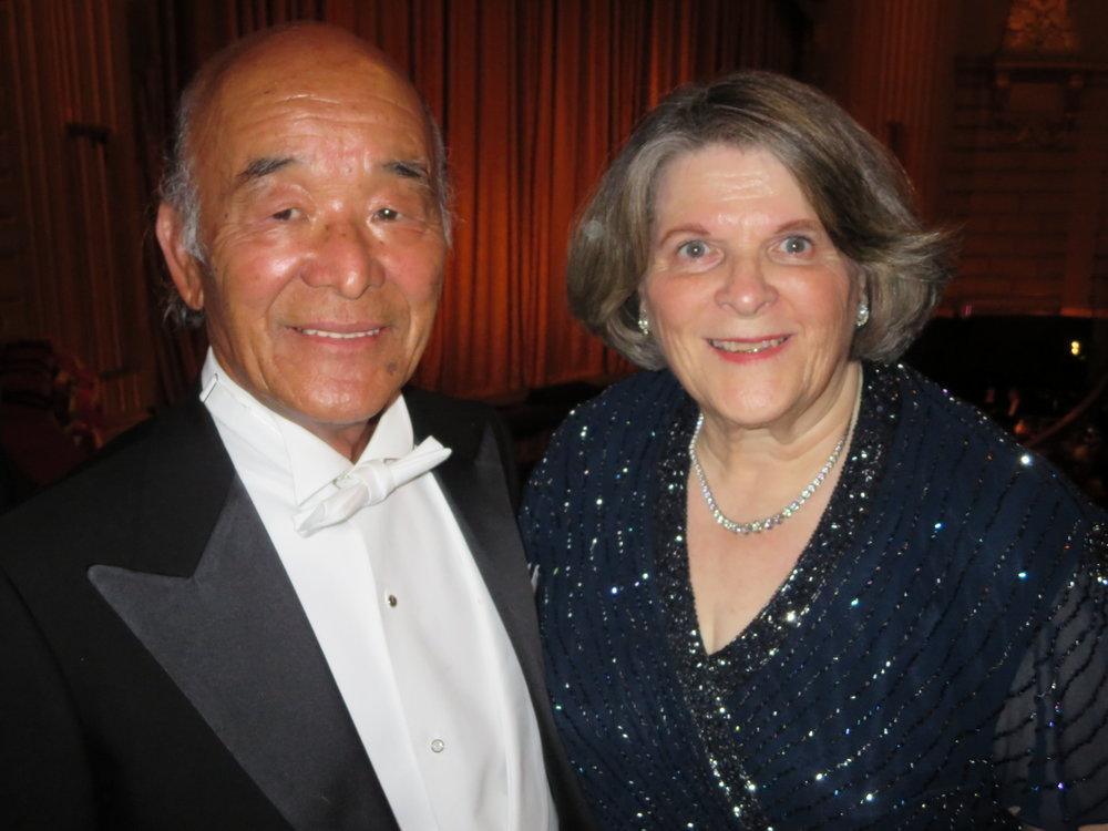 Betty and Hiro Ogawa