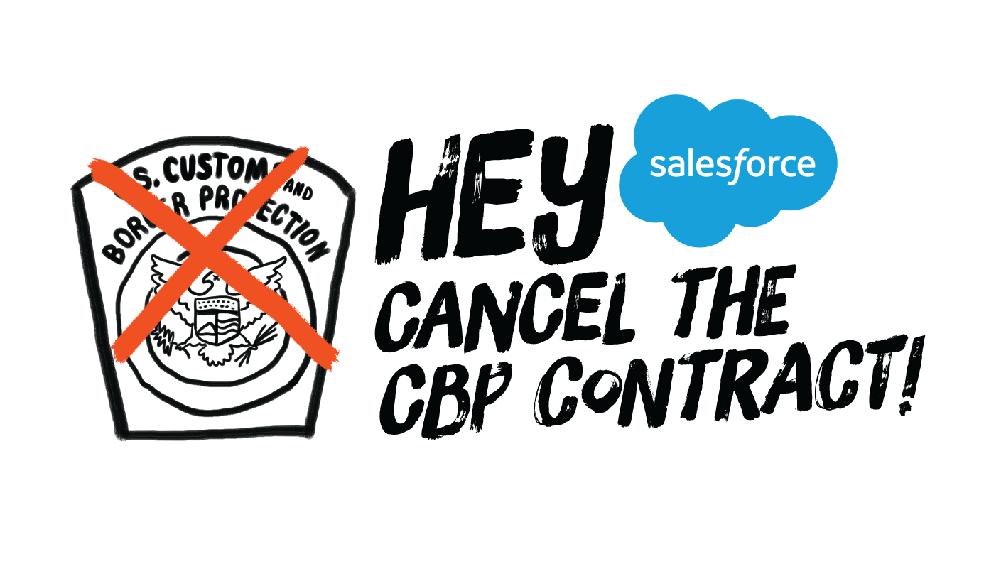 Salesforce - Cancel the CBP Contract!