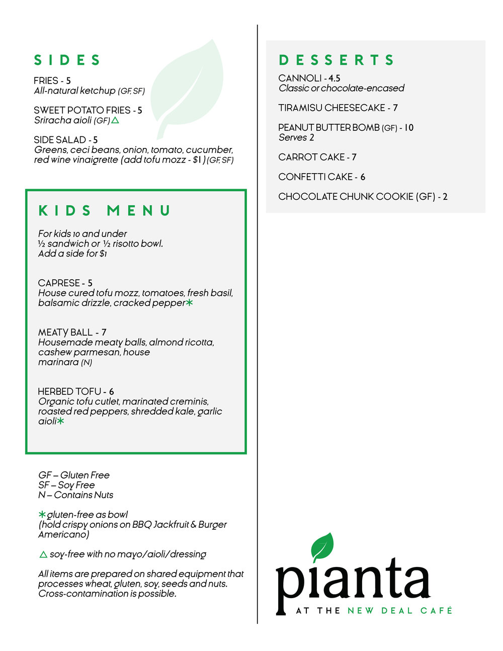 Pianta Menu Page 2 - Cafe - August.jpg