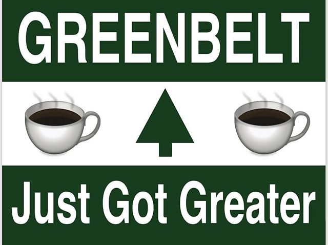 Greenbelters! Your coffee shop is coming!!! Full service coffee shop starting on 1/15 at Pianta at @thenewdealcafe! Open at 11am Tues-Sun. Early mornings coming in mid-Feb!!! ☕️🌲☕️ #greenbeltmd #greenbeltisgreat #greenbeltjustgotgreater