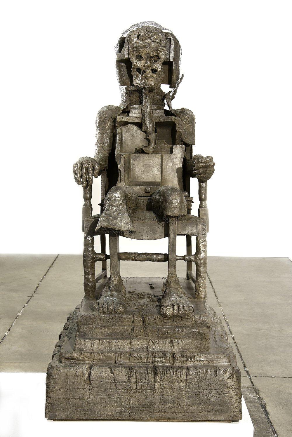 Huma Bhabha,  The Orientalist , 2011