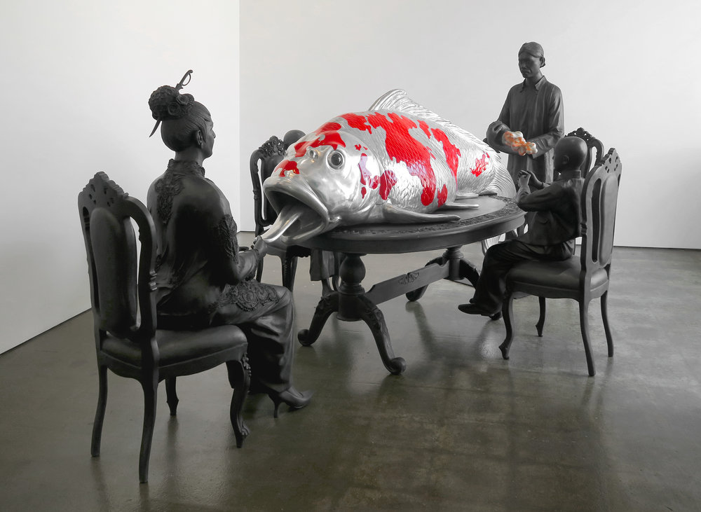 Entang Wiharso,  Inheritance , 2014