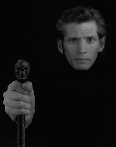 Robert Mapplethorpe,  Self Portrait , 1988