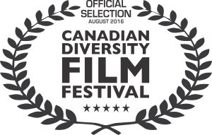 image of award. Official Selection Canadian Diversity Film Festival.