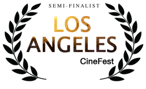 Image of award from Los Angeles