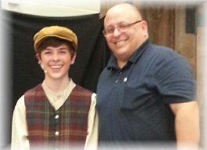 Zach with Matthew Marshall