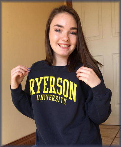 Maysee McLean Accepted to Ryerson