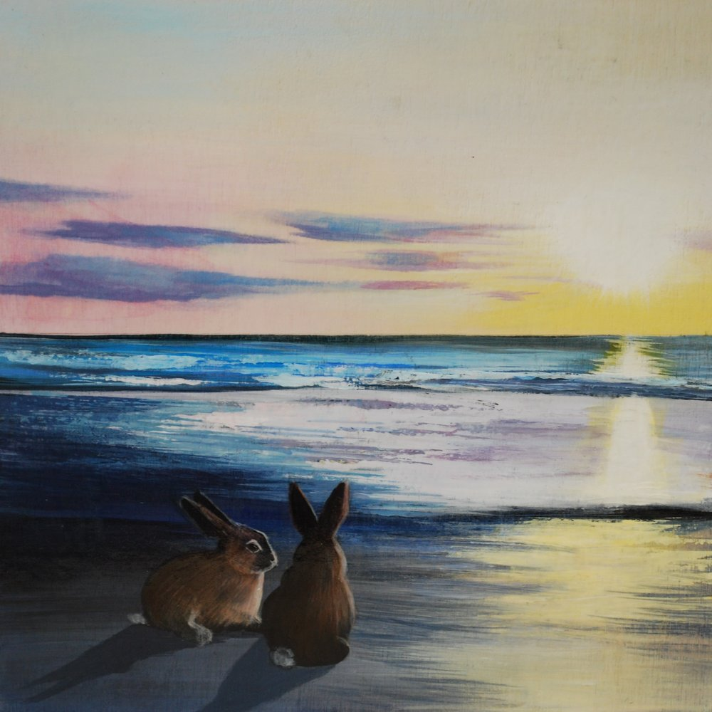 Sunset Beach Bunnies
