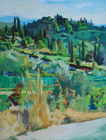 La Strada di Cipressi