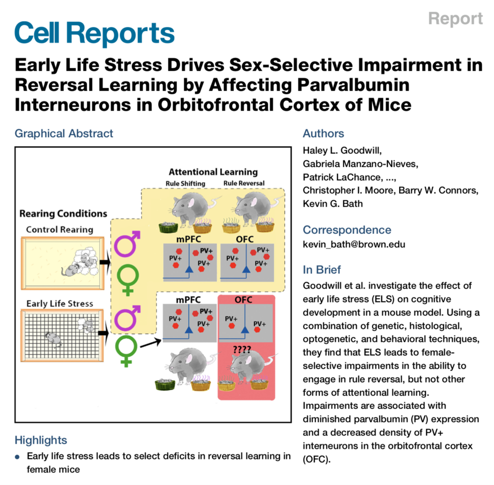 Goodwill et al., 2018.   Cell Reports.