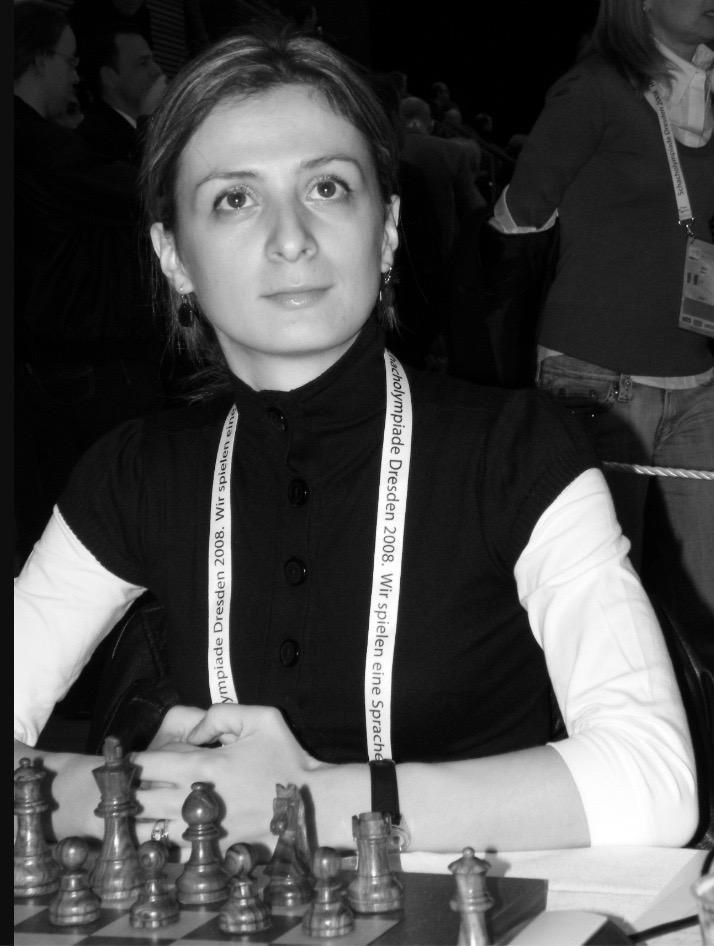 Rusudan Goletiani   RESIDENT WGM   Woma Grandmaster and International Master. 2005 U.S. Women's Champion.
