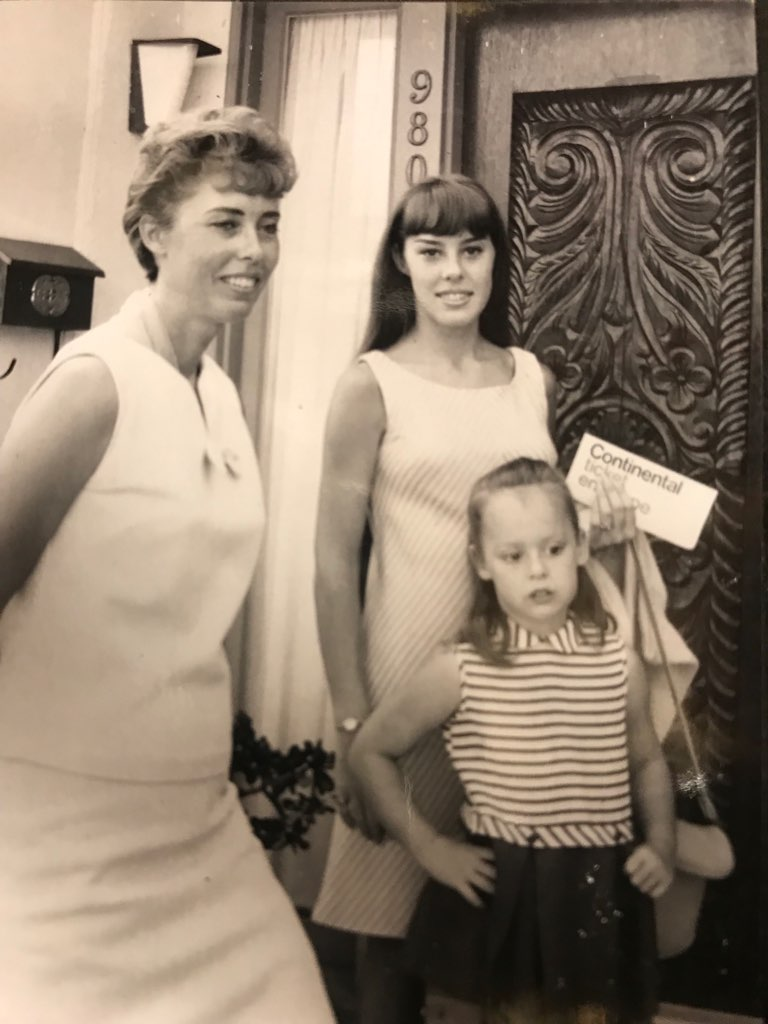 Me, my sister, and my mom.