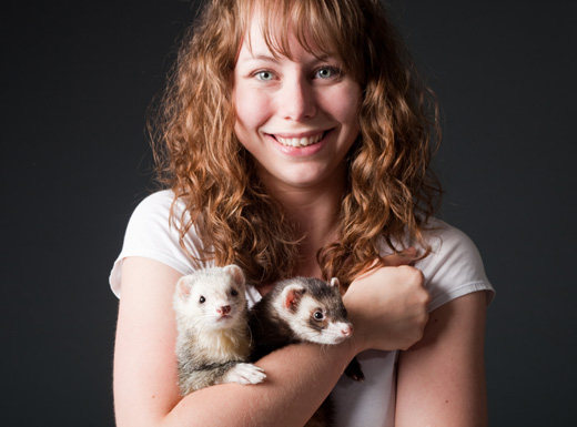 Jackie Johnson - Jackie has worked with animals professionally for 12 years. Before founding District Pet Care in 2016, Jackie worked as an Animal Caretaker and Adoption Counselor at the MSPCA, where she cared for thousands of animals each year. She has also worked in the veterinary field both as a Receptionist and Veterinary Technician. Jackie is Pet First Aid and CPR certified.
