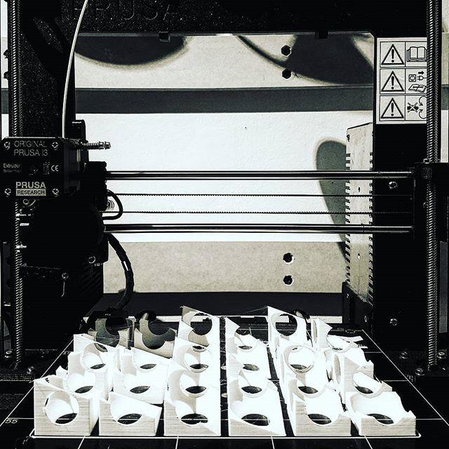 New 3D printers pulled an all-nighter building models so that we don't have to --hero. #architecture
