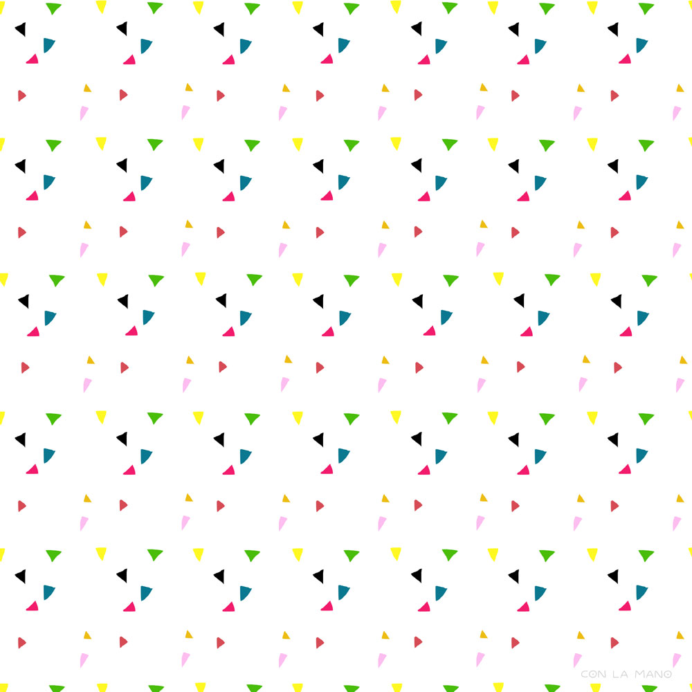 PARTY PATTERN  patterns/ color, colorful, confetti, rainbow, parties.