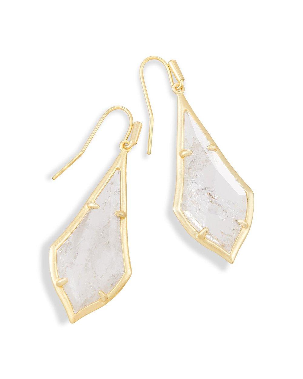 Olivia Gold Drop Earrings- $39.97