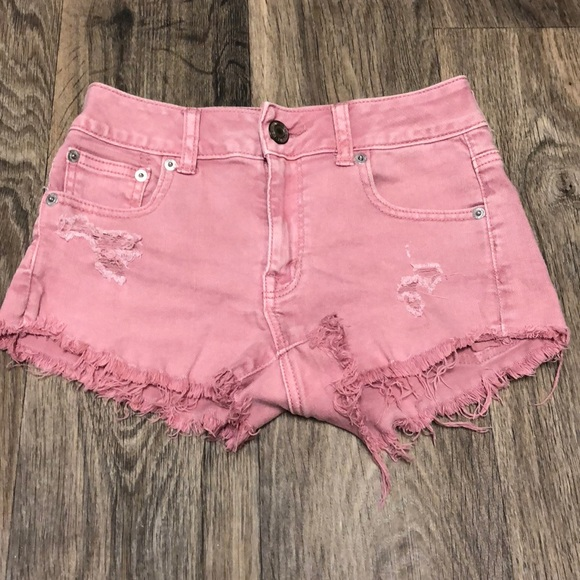Colored Jean Shorts- $10