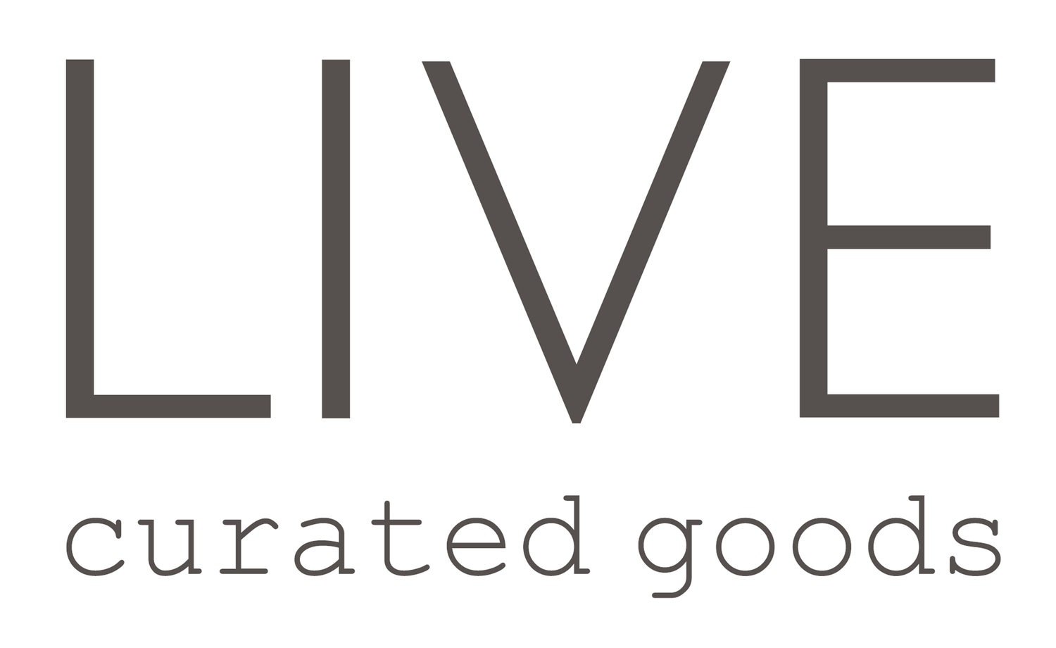 LIVE curated goods