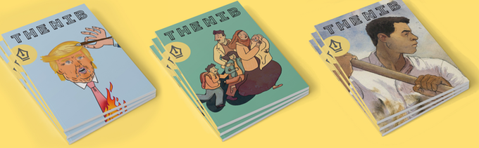 The Nib Magazine - Delivered to your doorstep, once a quarter