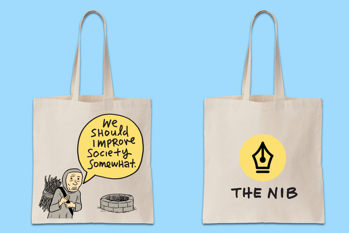 Tote - Improve society somewhat with this tote