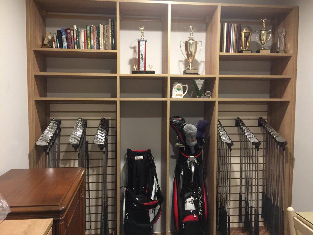 Golf Club Storage.JPG