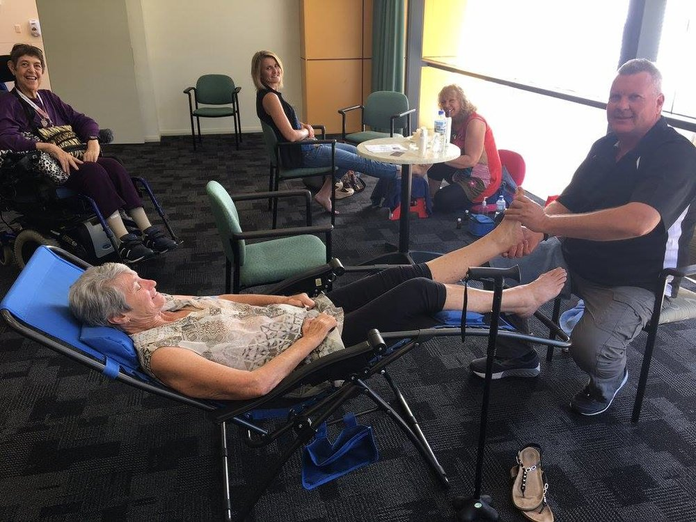 Support Groups - The Motor Neurone Disease Association of WA (MNDAWA) organises a range of different support groups and events throughout the year. Some are monthly gatherings and others are bi-annual or annual events.