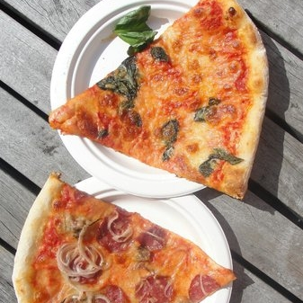 TOMMY MILLIONS $   Pizza by the slice with the perfect crust - and something for all dietary requirements!  Three Te Aro locations: - The Press Hall, Kiosk 1, 78A Willis St - 105 Courtenay Pl - 142 Featherston St.  Open 11am-6.30pm most days (Courtenay Pl open until late).