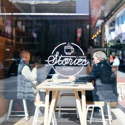 STORIES ESPRESSO BAR   Stories makes really great coffee - and it's right across the road from  INVOLVE 2018 !  Every dollar they make goes back into the Barista Training Academy of Zeal, a nationwide trust that aims to transform young people through the creative arts.   Serves: Peoples (Wellington)  40A Cuba Street, Te Aro.  Open 7.30am-3.30pm Monday-Friday and 9am-3.30pm Saturday.