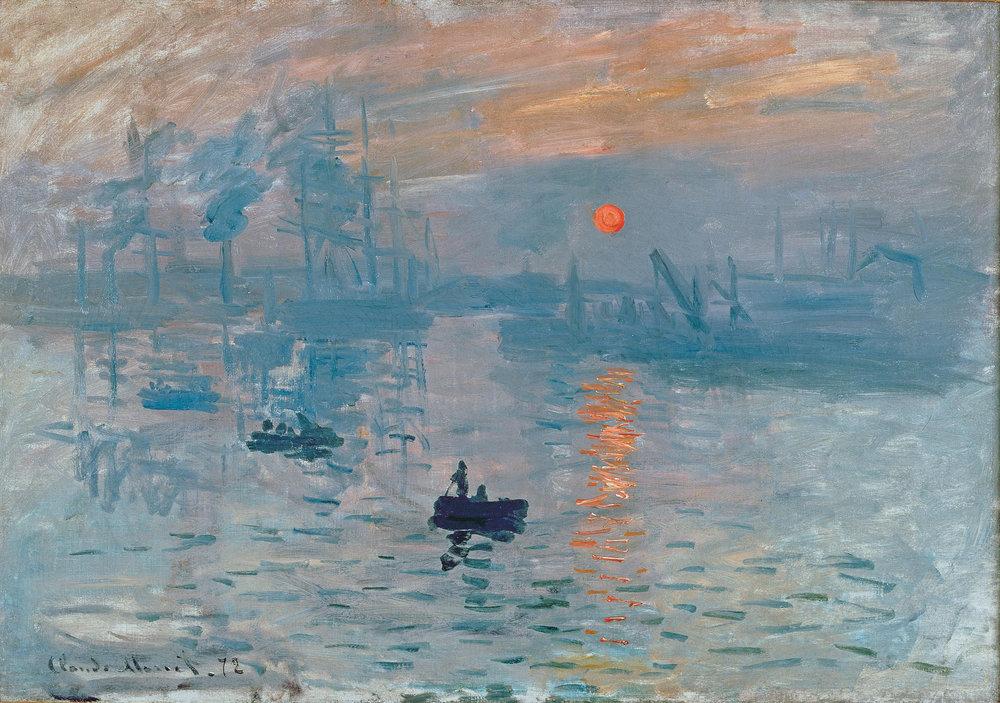 Impression, Sunrise  by Claude Monet, Source: https://www.claude-monet.com/impression-sunrise.jsp